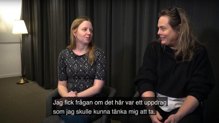 Helena Fagertun och Lena Andersson berättar om hur Älvstranden Utvecklings arkiv blev bäst i klassen.