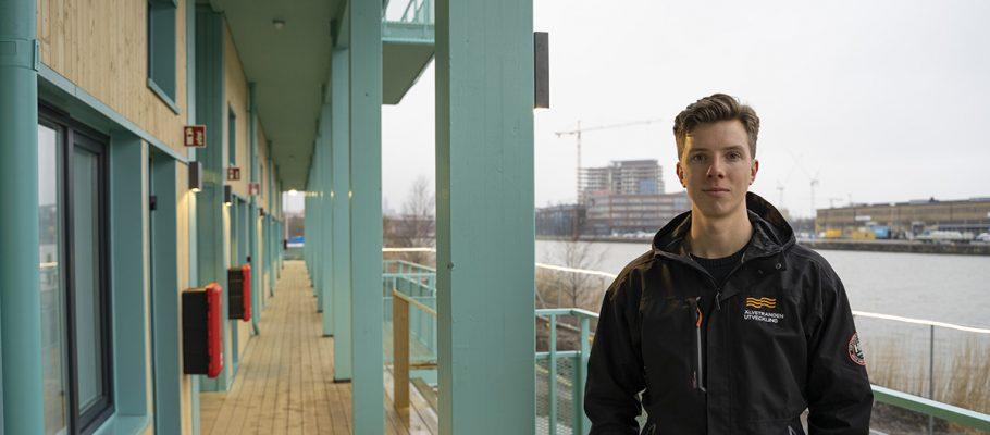 Stefan Pirhonen, projektledare på Älvstranden Utveckling