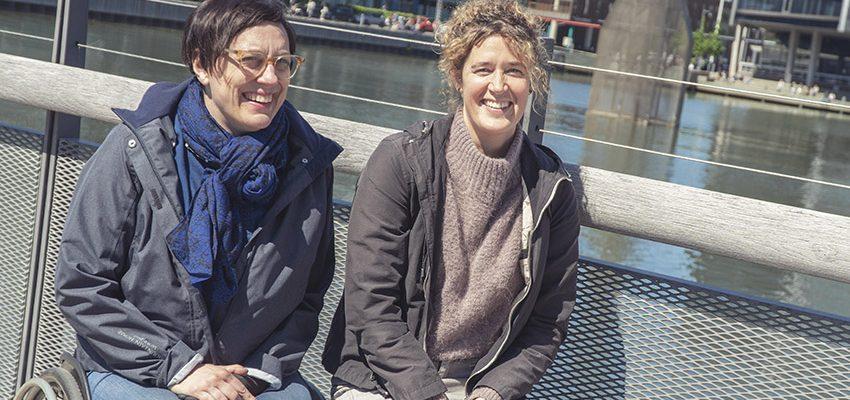 Marléne Engström, stadsbyggnadskontoret Malmö stad och Åsa Jellinek från Älvstranden Utveckling.