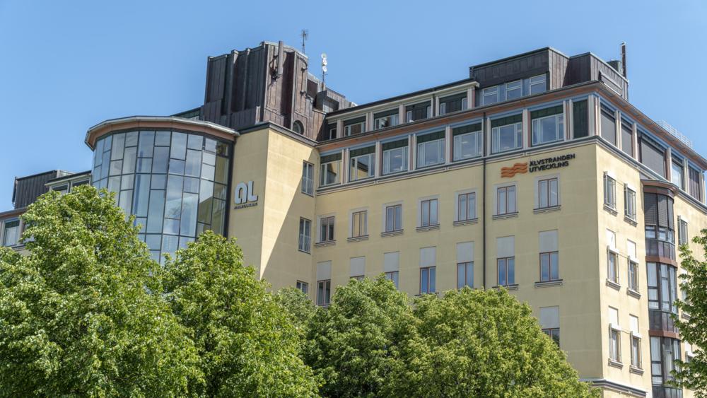 Bild på fastigheten där vi på Alvstranden Utveckling har vårt kontor, Lindholmen.