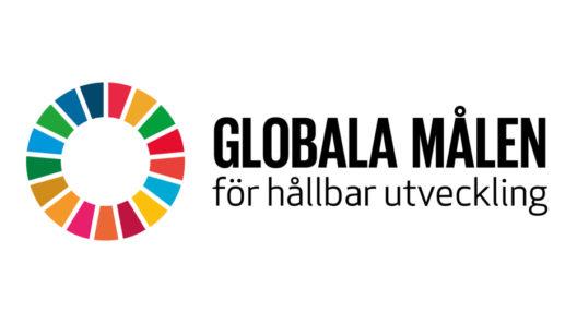 Logo globala målen.