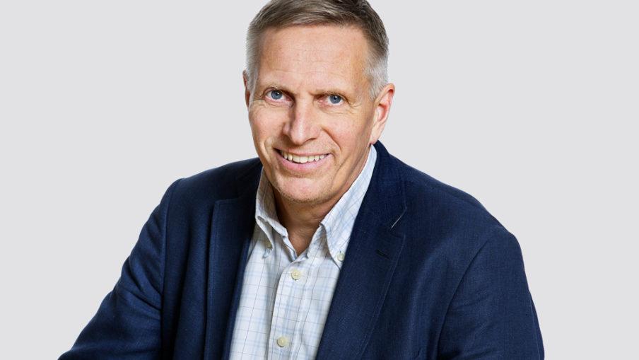 Porträtt på Rune Arnesen